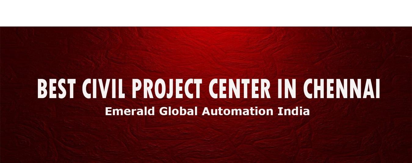 best civil project center chennai