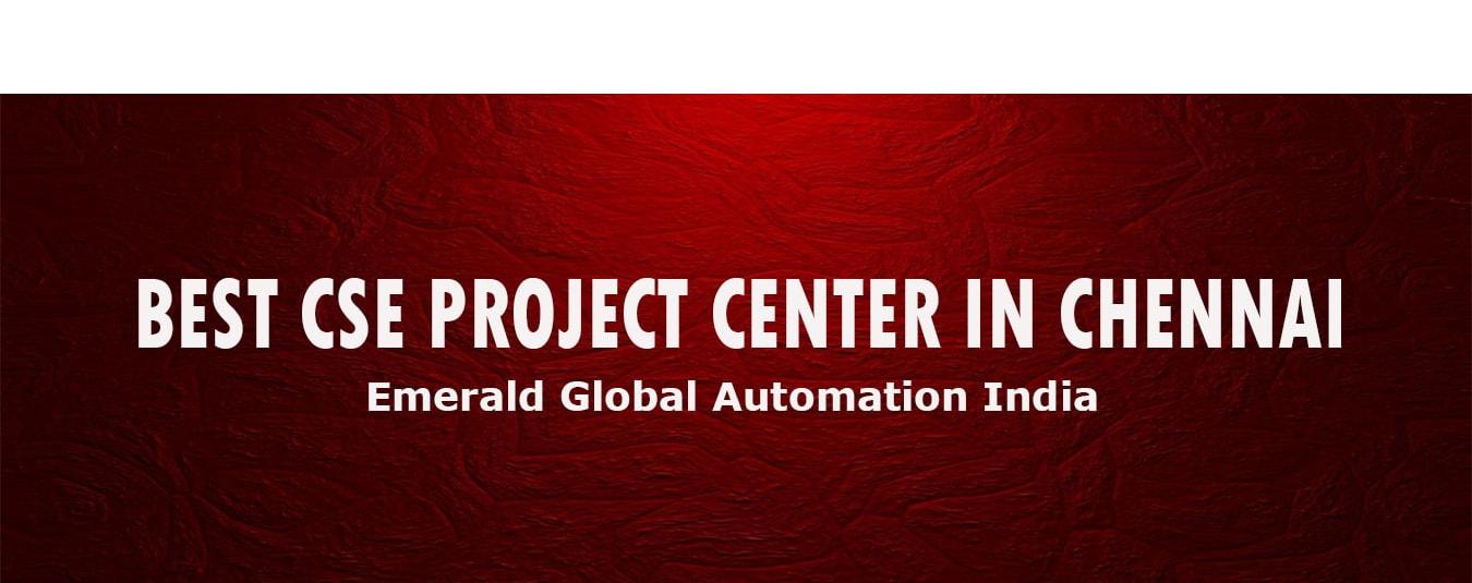 best cse project center chennai